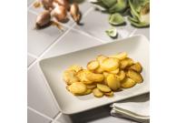 Scheibenkartoffeln, gargekocht
