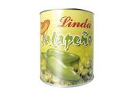 Jalapeños in Scheiben, grün