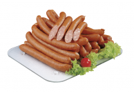 Puten Käsekrainer mit Emmentaler, Halal