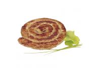 Geflügel Bratwurst Schnecke gebrüht, fertig gegrillt