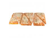 Pizza Margherita 28x40cm, 3-eck, geschnitten