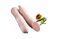 Delikatess Leberwurst im Wachsdarm, fein