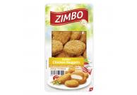 Golden Chicken Nuggets Hähnchenfleisch fein zerkleinert, geformt, würzig paniert und gebraten