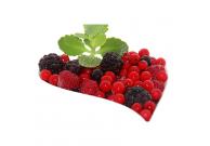 Beerencocktail ohne Erdbeeren