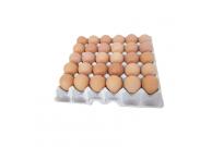 Hühnereier, roh, braun, Gewichtsklasse M