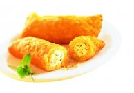Kartoffeltaschen mit Frischkäse und Kräutern