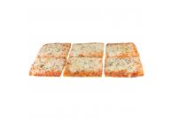 Pizza Margherita 28x40cm, 4-eck, geschnitten