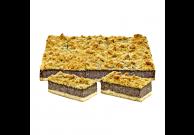 Mohn-Butterstreusel Blechkuchen