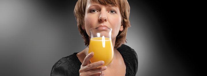 Fruchtsaft Getränke